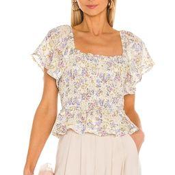 floral blouses | Revolve Clothing (Global)