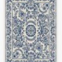 Delphina Delft Blue Rug | Ruggable