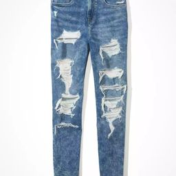 AE Stretch Ripped Mom Jean   American Eagle Outfitters (US & CA)