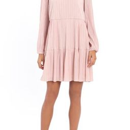 A-Line Pleated Varigated Dress | Nordstrom Rack