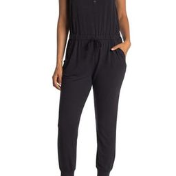 French Terry Sleeveless Jumpsuit | Nordstrom Rack