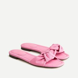 Knotted sandals in chino cotton | J.Crew US