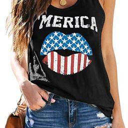 ETCYY Women's Sleeveless Workout Yoga Tank Tops Loose Cute Printed Running Sports Athletic T Shir... | Amazon (US)