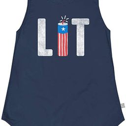 Tipsy Elves Women's Red, White and Blue Patriotic Summer Tank Tops | Amazon (US)