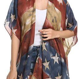Women's Stylish Kimono Cardigan with Pom-pom, Loose Sleeveless Beach Cover Up, Fashion Swimwear C... | Amazon (US)