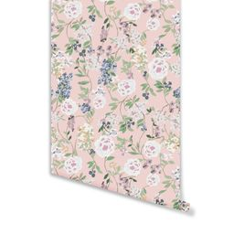 Betty Wallpaper in Crystal Pink | Brooke and Lou