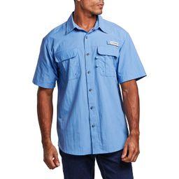 Magellan Outdoors Men's Laguna Madre Solid Short Sleeve Fishing Shirt | Academy Sports + Outdoor Affiliate