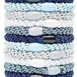L. Erickson Grab & Go Ponytail Holders, Atlantic, Set of Fifteen - Exceptionally Secure with Gent... | Amazon (US)