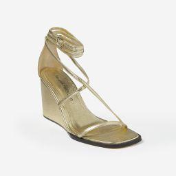 Shadow High-Heel Strappy Wedge Sandals | Tamara Mellon