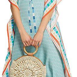 Bsubseach Women Bathing Suit Cover Up Ethnic Print Kaftan Beach Maxi Dresses | Amazon (US)