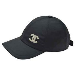 AUTHENTIC 2021 CHANEL Black Baseball Cap CC Logo NWT  | eBay | eBay US