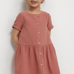 Cotton Dress   H&M (US)