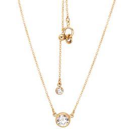 14K Gold Filled Diamond Cut Dainty Charm CZ Nasreen Necklace   Etsy   Etsy (US)