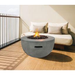 Florisa Concrete Propane Fire Pit | Wayfair North America