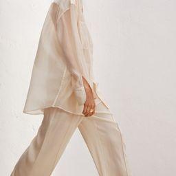 Airy Lyocell-blend Shirt | H&M (US)