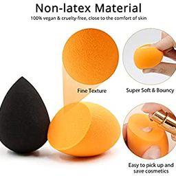 BEAKEY Makeup Sponge, 10 Pcs Latex-free and Vegan Makeup Blender Beauty Sponge, Flawless for Crea...   Amazon (US)