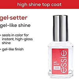 essie Gel-Setter Gel Nail Polish-Style Top Coat, 0.46 Ounces (Packaging May Vary)   Amazon (US)