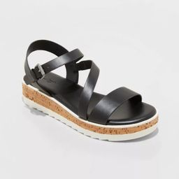 Women's Gia Platform Sandals - Universal Thread™   Target