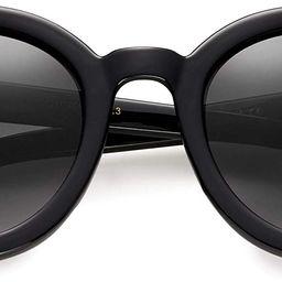 Round Oversized Retro Fashion Sunglasses for Women UV400 Trendy Big Circle Lens Designer Shades G...   Amazon (US)