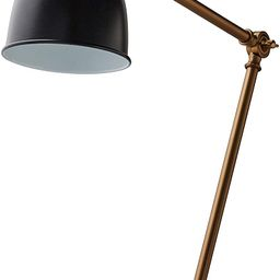 "Amazon Brand – Rivet Caden Adjustable Task Table Lamp with USB Port, Bulb Included, 28.5""H , Bl... | Amazon (US)"