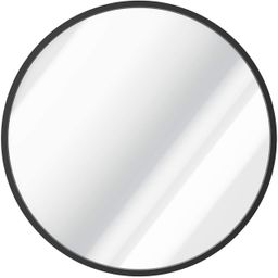 USHOWER 30-Inch Black Round Wall Mirror, Large Metal Frame Decor Mirror for Bathroom, Entryway, V... | Amazon (US)