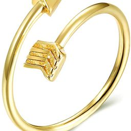 choice of all Women's Adjustable Arrow Ring - Cute Toe Ring for BFF Friends Teen Girls   Amazon (US)