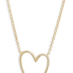 Ansley Heart Pendant Necklace   Nordstrom
