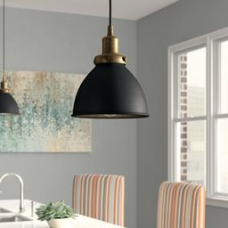Fellows 1 - Light Single Bell Pendant | Wayfair North America