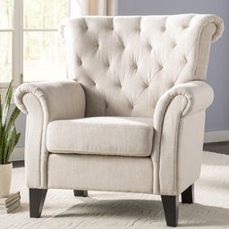 Penbrook 36'' Wide Tufted Polyester Armchair | Wayfair North America