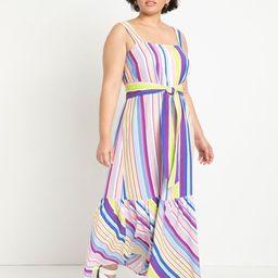 Square Neck Maxi Dress - Straight and Narrow | Eloquii