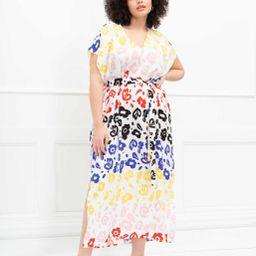 ELOQUII Elements Belted Maxi Dress | Eloquii