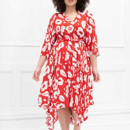 ELOQUII Elements Kimono Sleeve Maxi Dress | Eloquii