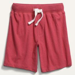 Rib-Knit-Waist Functional-Drawstring Shorts for Toddler Boys | Old Navy (US)
