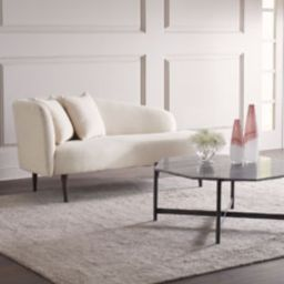 Lindlee Curved Chaise   Horchow