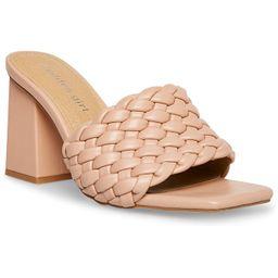 Golden-W Braided Block-Heel Mule Sandals   Macys (US)
