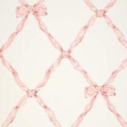 Ralph Lauren Matilda Ribbon Trell Blush  * Wallpaper | DecoratorsBest
