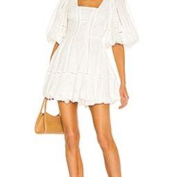 JONATHAN SIMKHAI Brynn Broderie Anglaise Dress in White from Revolve.com | Revolve Clothing (Global)
