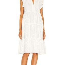 Amanda Uprichard Sheradin Dress in White from Revolve.com | Revolve Clothing (Global)