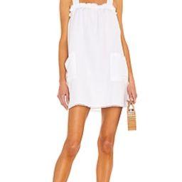 Show Me Your Mumu Sunshine Dress in White Linen from Revolve.com | Revolve Clothing (Global)