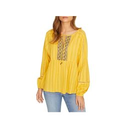 Sanctuary Womens Summer Embroidered Eyelet Peasant Top   Walmart (US)