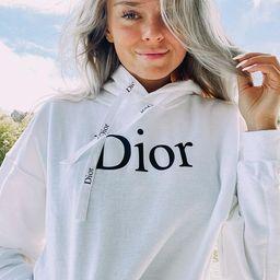 Dior Hoodie   Etsy   Etsy (US)