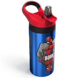 Marvel Spider-Man 19.5oz Stainless Steel Water Bottle Blue/Red   Target