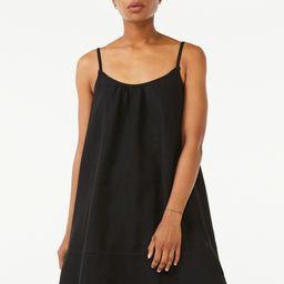 Free Assembly Women's Strappy Swing Dress | Walmart (US)