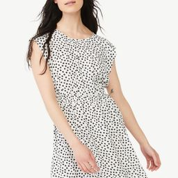 Free Assembly Women's Flutter Sleeve Mini Dress   Walmart (US)