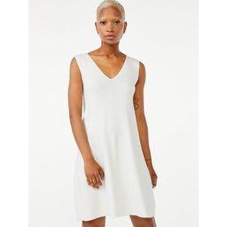 Free Assembly Sleeveless V-Neck Swing Dress | Walmart (US)