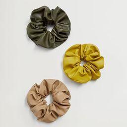 Scrunchies 3 pack | MANGO (UK)