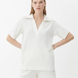Towelling Polo Shirt | ARKET