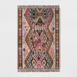Warm Austin Woven Outdoor Rug Pink - Opalhouse™ | Target