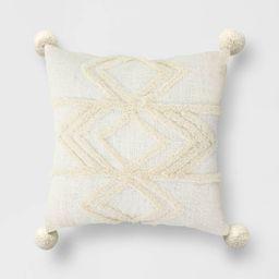 High Low Throw Pillow Cream - Opalhouse™ | Target