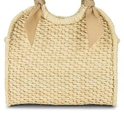 SENSI STUDIO X REVOLVE Midi Handbag in Natural & Ivory from Revolve.com | Revolve Clothing (Global)